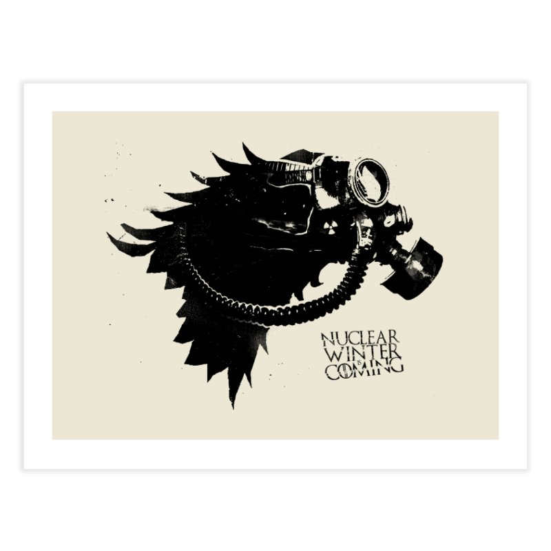 Fallout game of throne Home Fine Art Print by Propaganda Department
