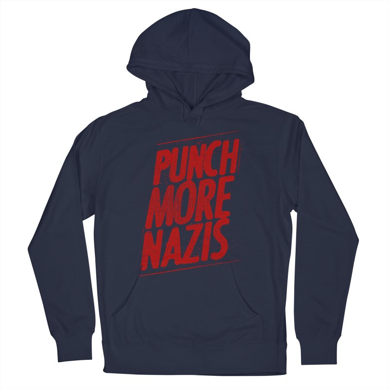 Punch more nazis Men's Pullover Hoody by Propaganda Department