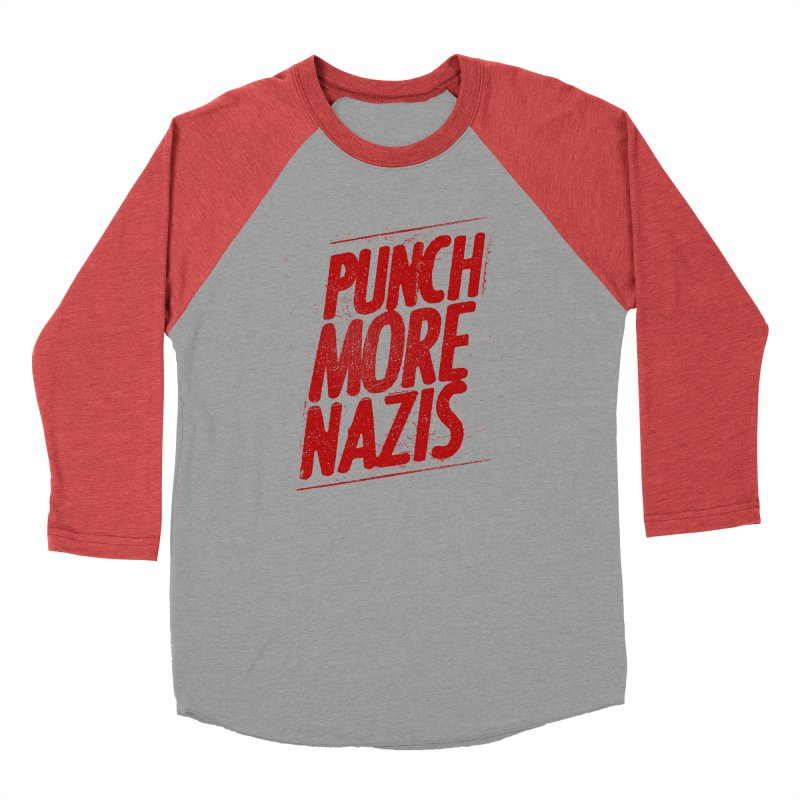 Punch more nazis Men's Longsleeve T-Shirt by Propaganda Department