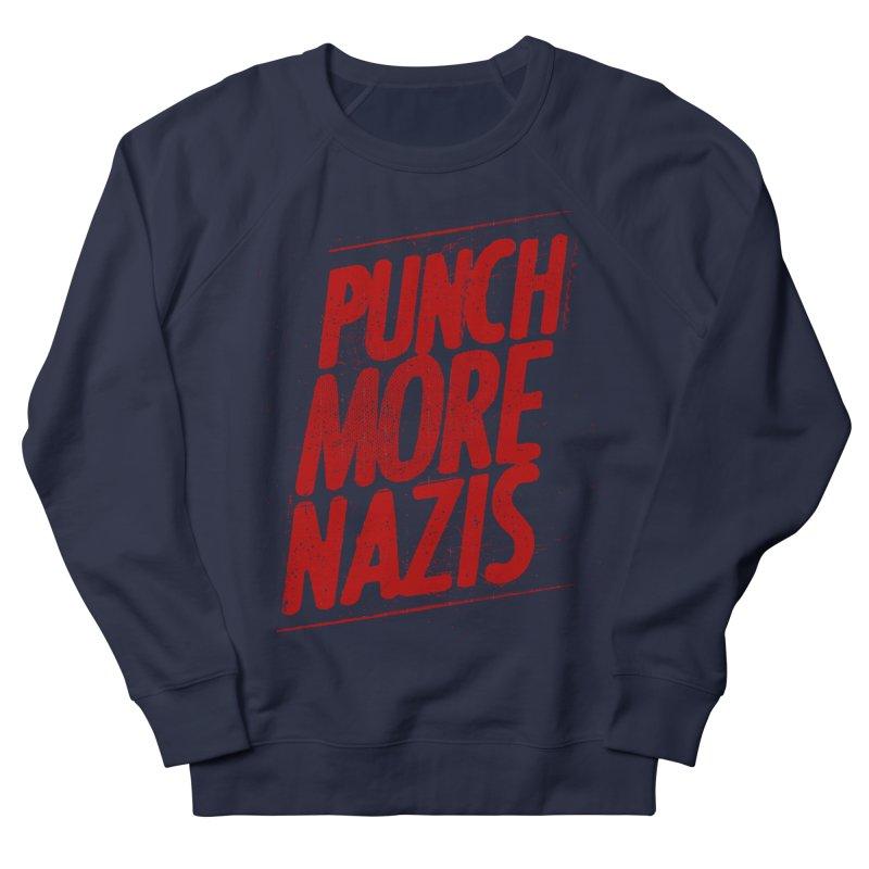 Punch more nazis Women's Sweatshirt by Propaganda Department