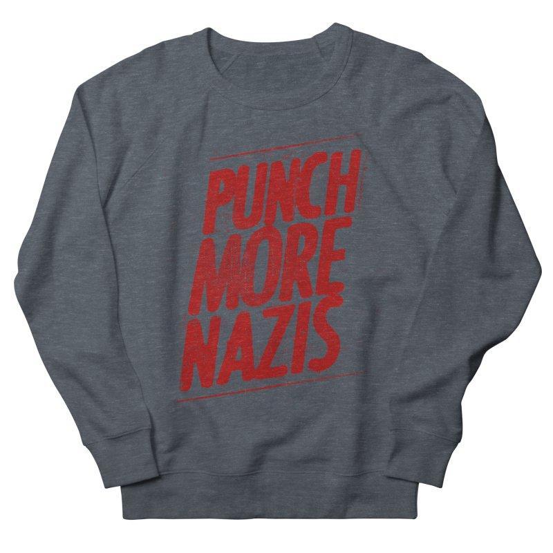 Punch more nazis Men's Sweatshirt by Propaganda Department