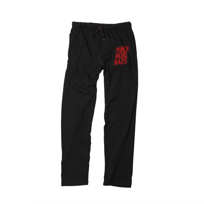 Punch more nazis Men's Lounge Pants by Propaganda Department