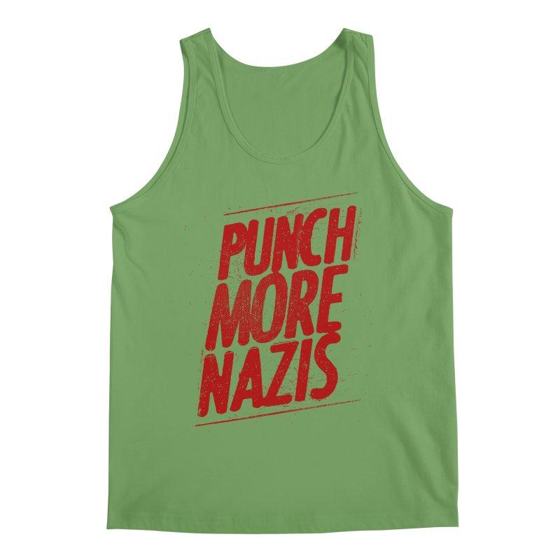 Punch more nazis Men's Tank by Propaganda Department
