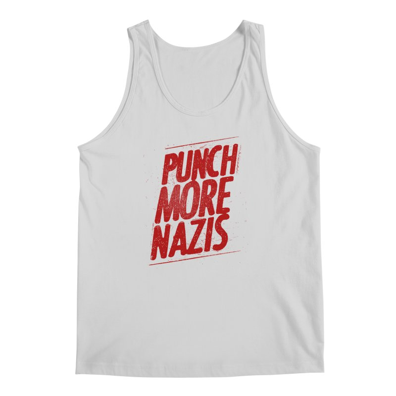 Punch more nazis Men's Regular Tank by Propaganda Department