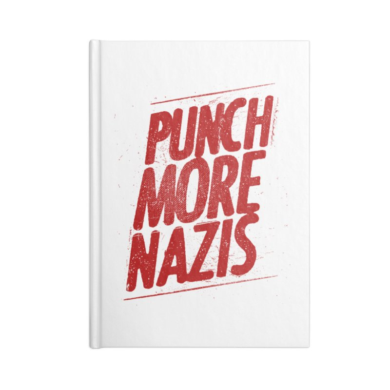 Punch more nazis Accessories Notebook by Propaganda Department