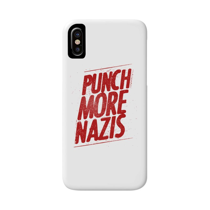 Punch more nazis Accessories Phone Case by Propaganda Department