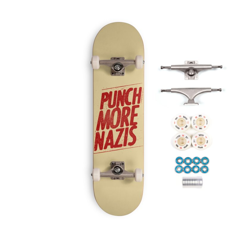 Punch more nazis Accessories Complete - Premium Skateboard by Propaganda Department