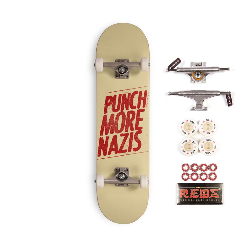Punch more nazis Accessories Complete - Pro Skateboard by Propaganda Department