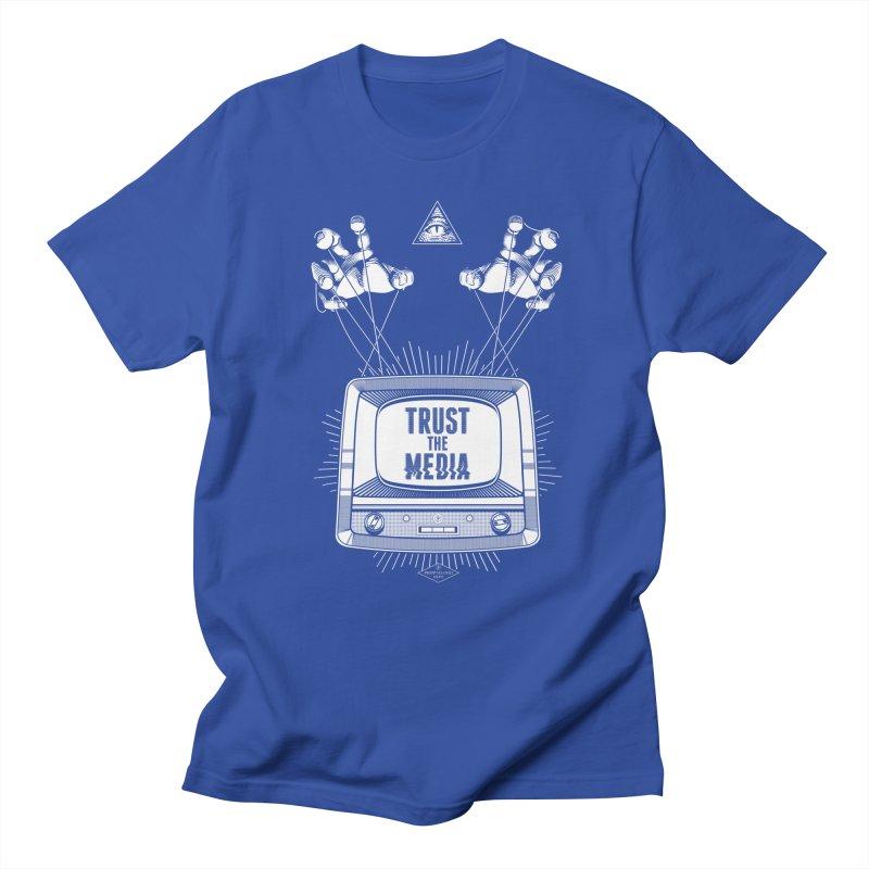Trust The Media Men's T-Shirt by Propaganda Department