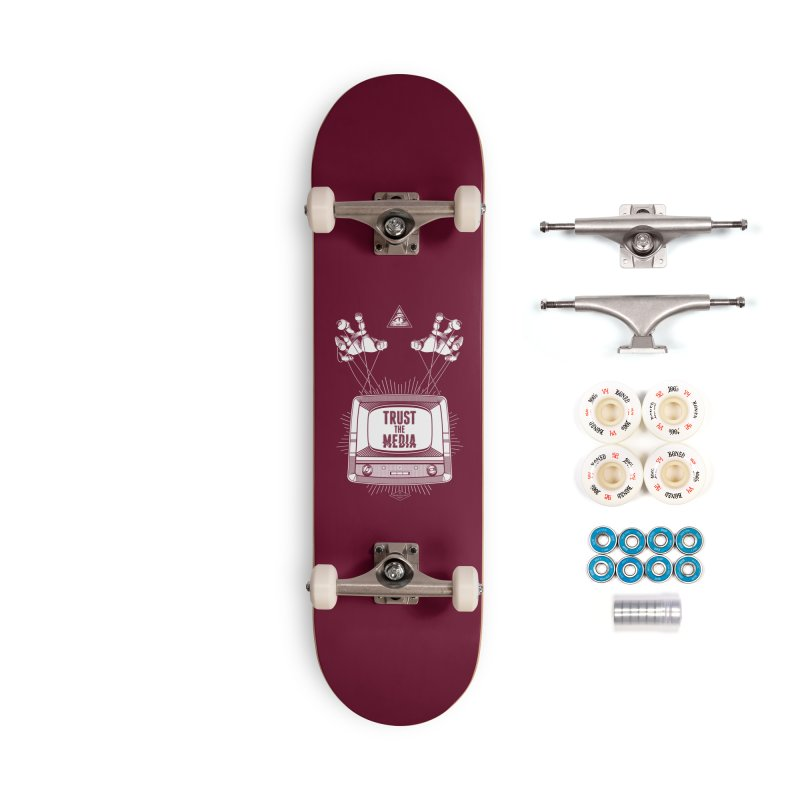 Trust The Media Accessories Complete - Premium Skateboard by Propaganda Department