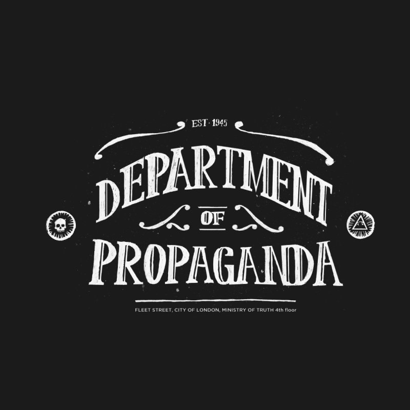 Department of Propaganda Men's T-Shirt by Propaganda Department