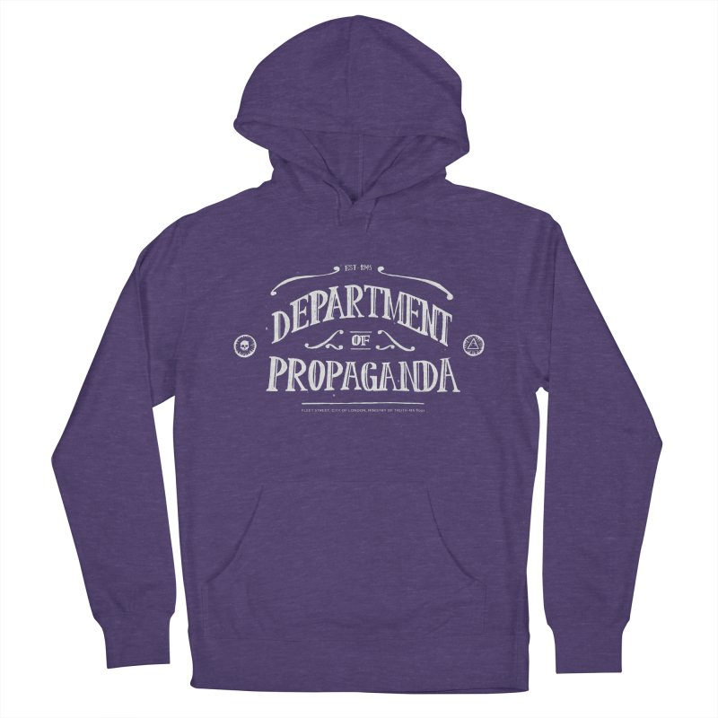 Department of Propaganda Men's French Terry Pullover Hoody by Propaganda Department