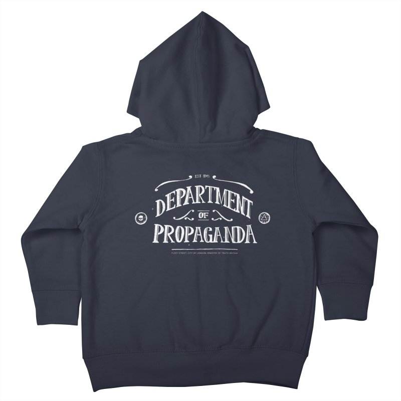 Department of Propaganda Kids Toddler Zip-Up Hoody by Propaganda Department