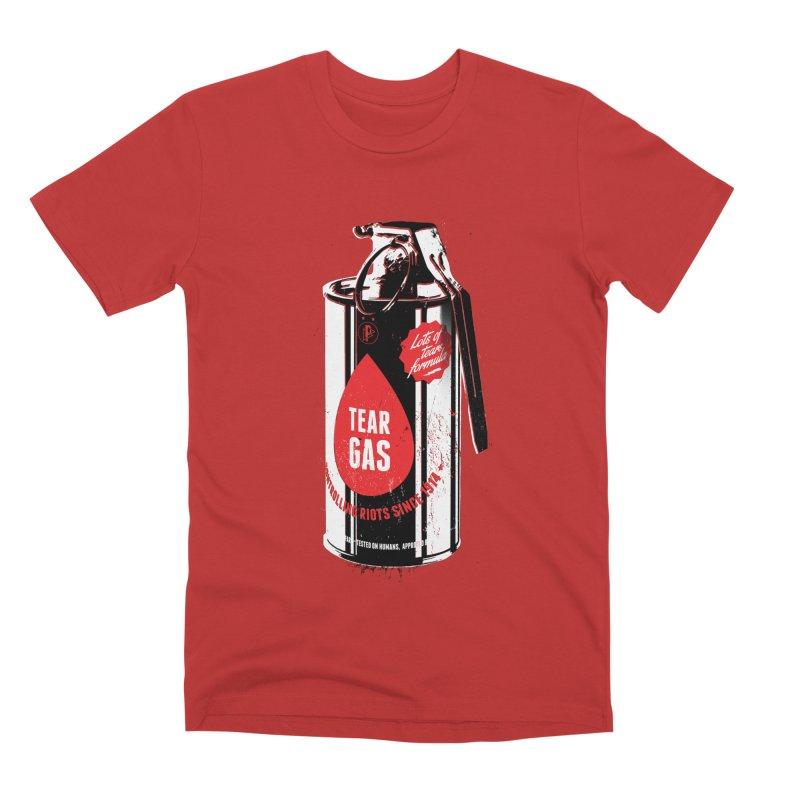 Tear gas grenade Men's Premium T-Shirt by Propaganda Department