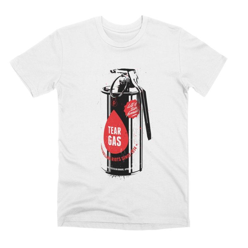 Tear gas grenade Men's T-Shirt by Propaganda Department