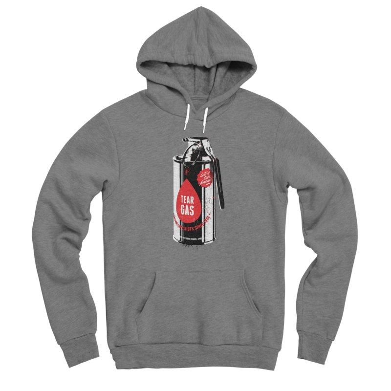 Tear gas grenade Men's Pullover Hoody by Propaganda Department