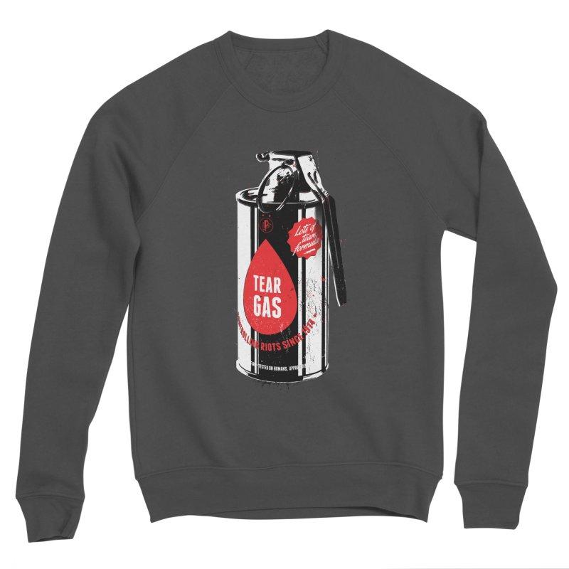 Tear gas grenade Men's Sponge Fleece Sweatshirt by Propaganda Department