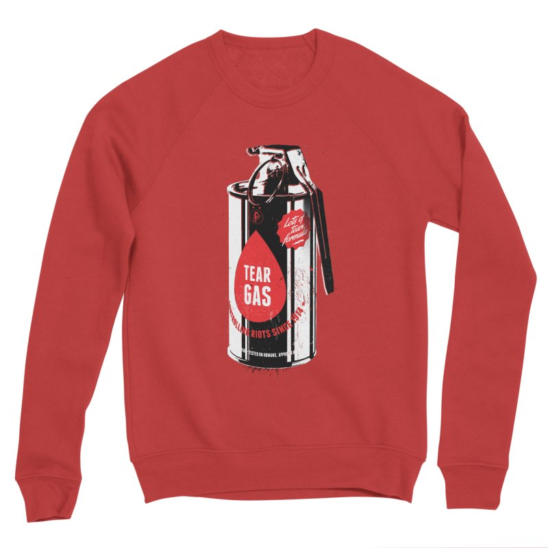 Tear gas grenade Men's Sponge Fleece Sweatshirt by Propaganda Department