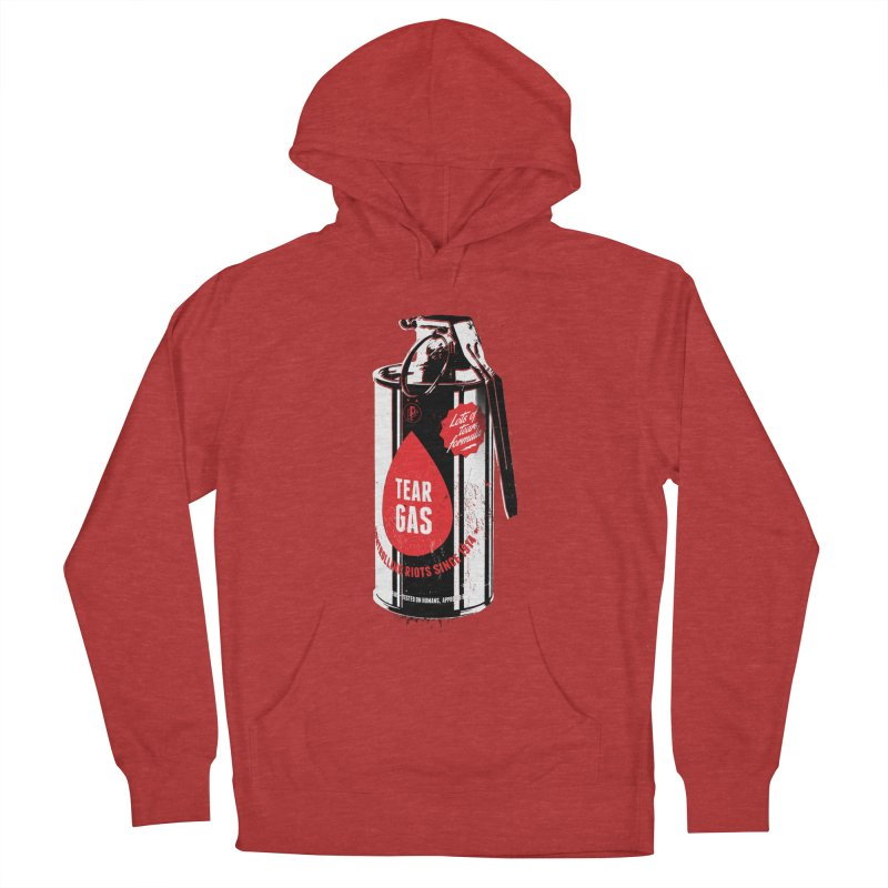 Tear gas grenade Men's Pullover Hoody by Propaganda Department