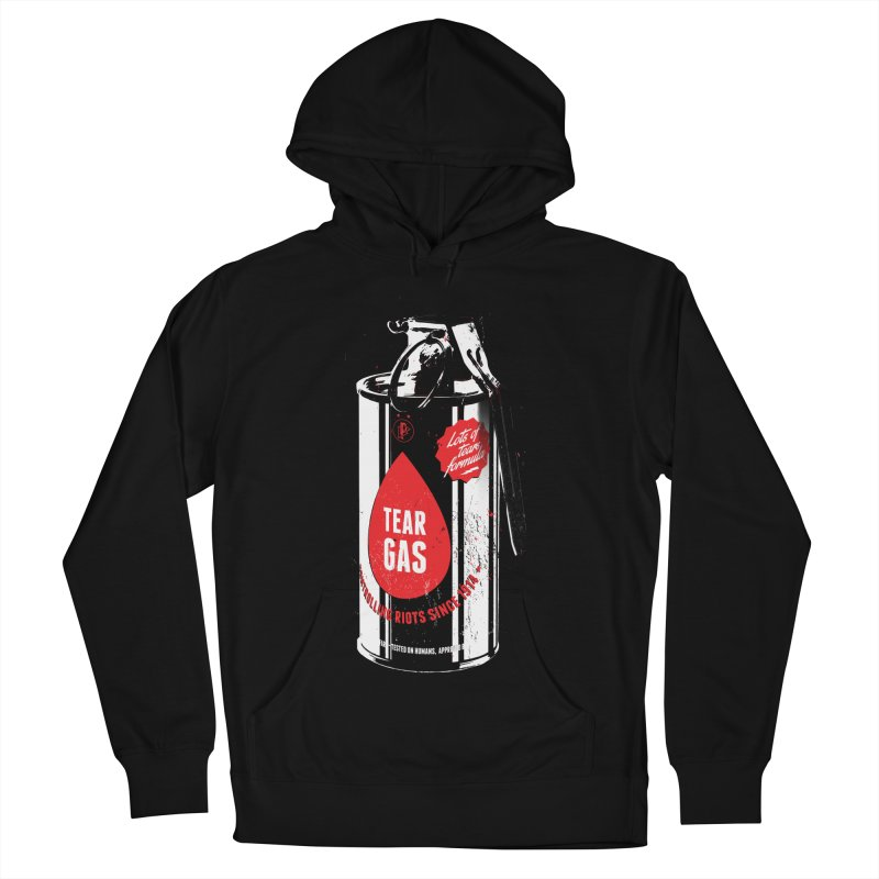 Tear gas grenade Men's French Terry Pullover Hoody by Propaganda Department