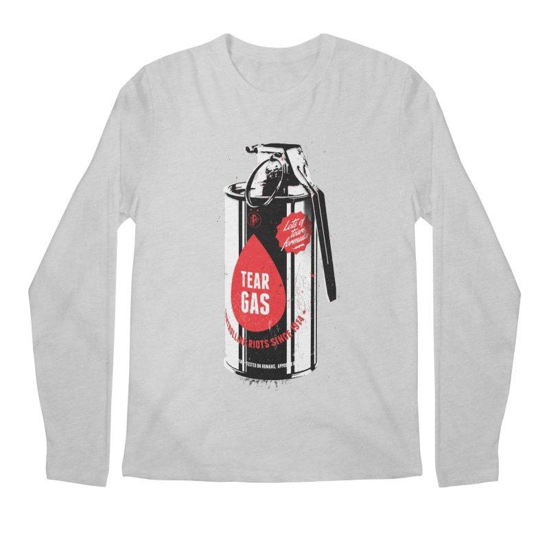 Tear gas grenade Men's Regular Longsleeve T-Shirt by Propaganda Department
