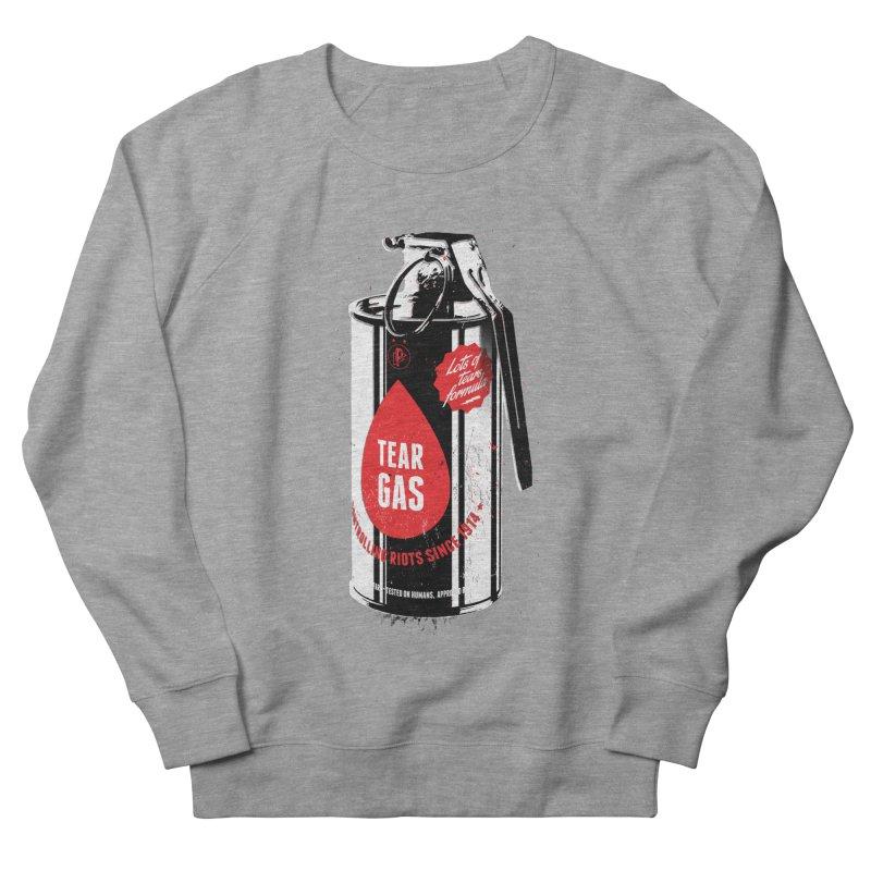 Tear gas grenade Men's French Terry Sweatshirt by Propaganda Department