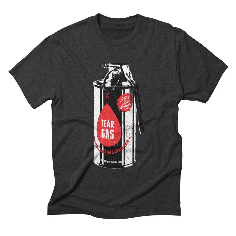 Tear gas grenade Men's Triblend T-Shirt by Propaganda Department