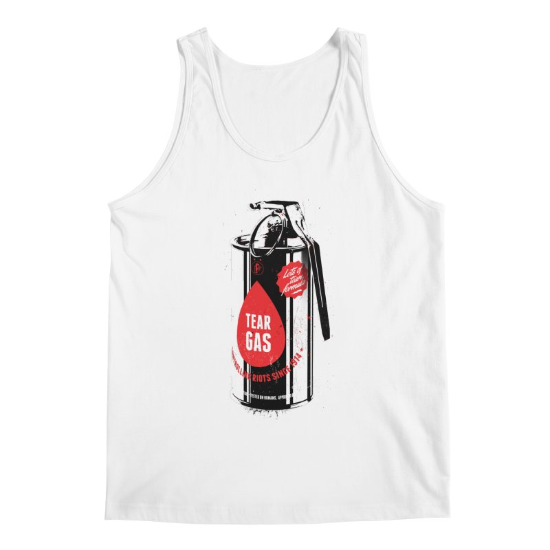 Tear gas grenade Men's Tank by Propaganda Department
