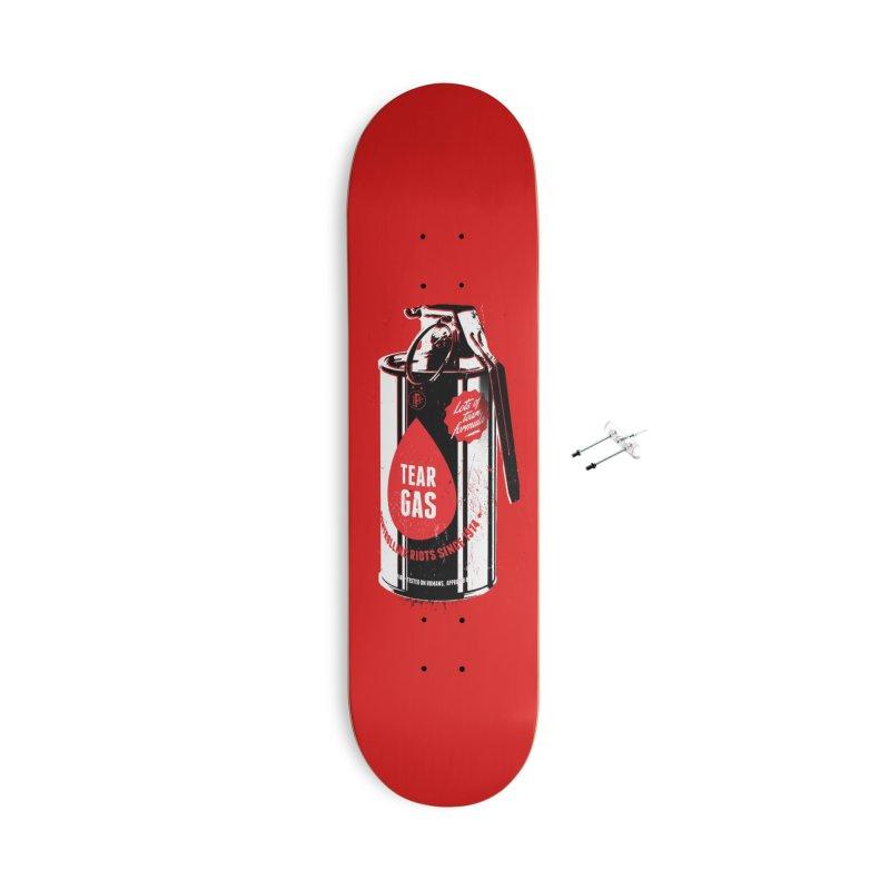 Tear gas grenade Accessories Skateboard by Propaganda Department