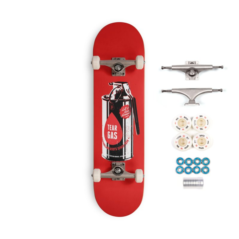 Tear gas grenade Accessories Complete - Premium Skateboard by Propaganda Department