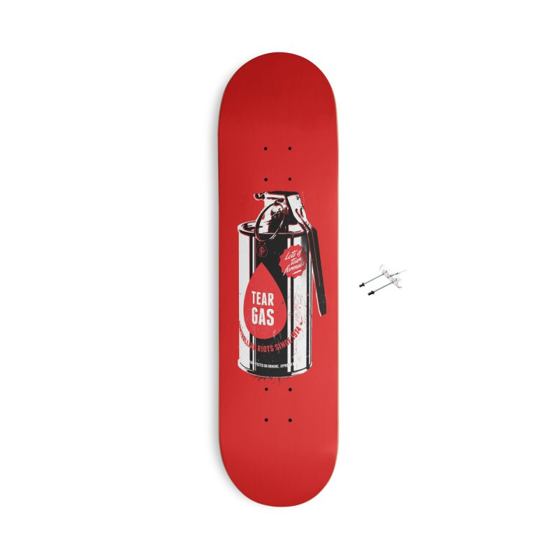 Tear gas grenade Accessories With Hanging Hardware Skateboard by Propaganda Department