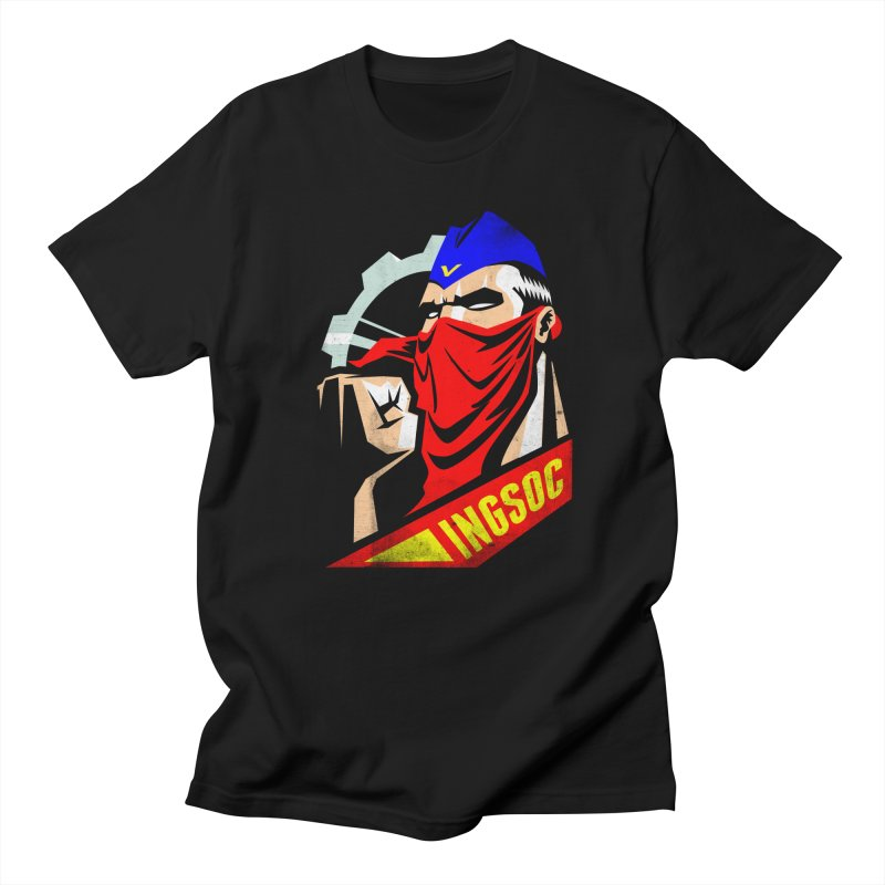 INGSOC Men's T-Shirt by Propaganda Department