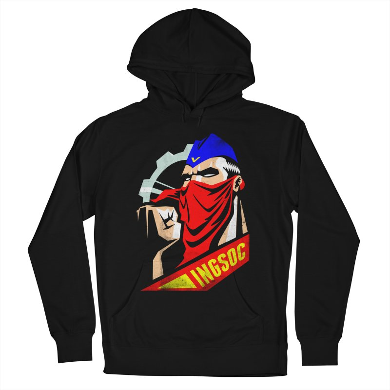 INGSOC Men's French Terry Pullover Hoody by Propaganda Department