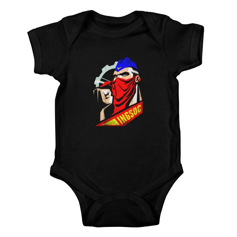INGSOC Kids Baby Bodysuit by Propaganda Department