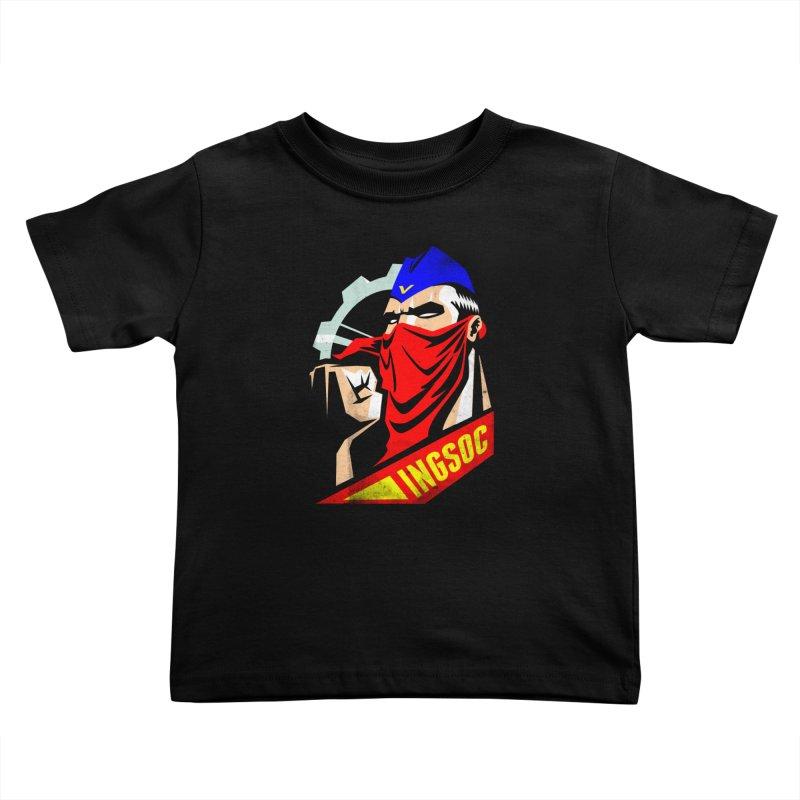 INGSOC Kids Toddler T-Shirt by Propaganda Department