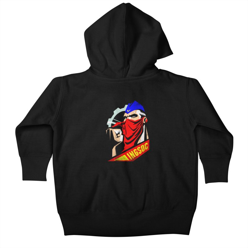INGSOC Kids Baby Zip-Up Hoody by Propaganda Department
