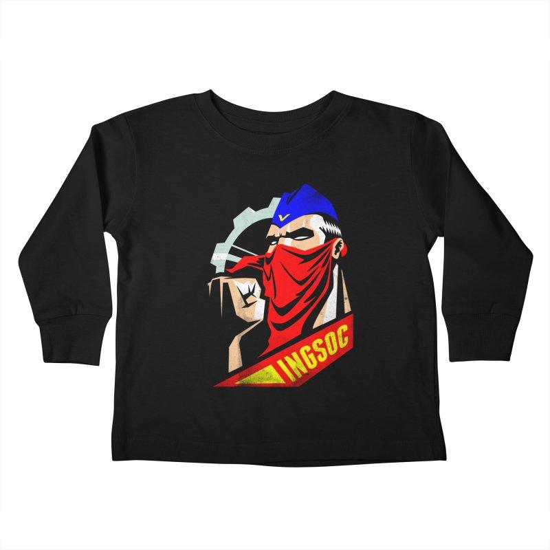 INGSOC Kids Toddler Longsleeve T-Shirt by Propaganda Department
