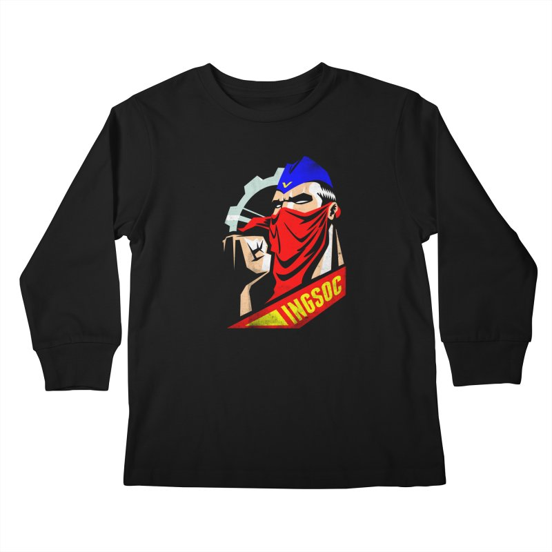 INGSOC Kids Longsleeve T-Shirt by Propaganda Department