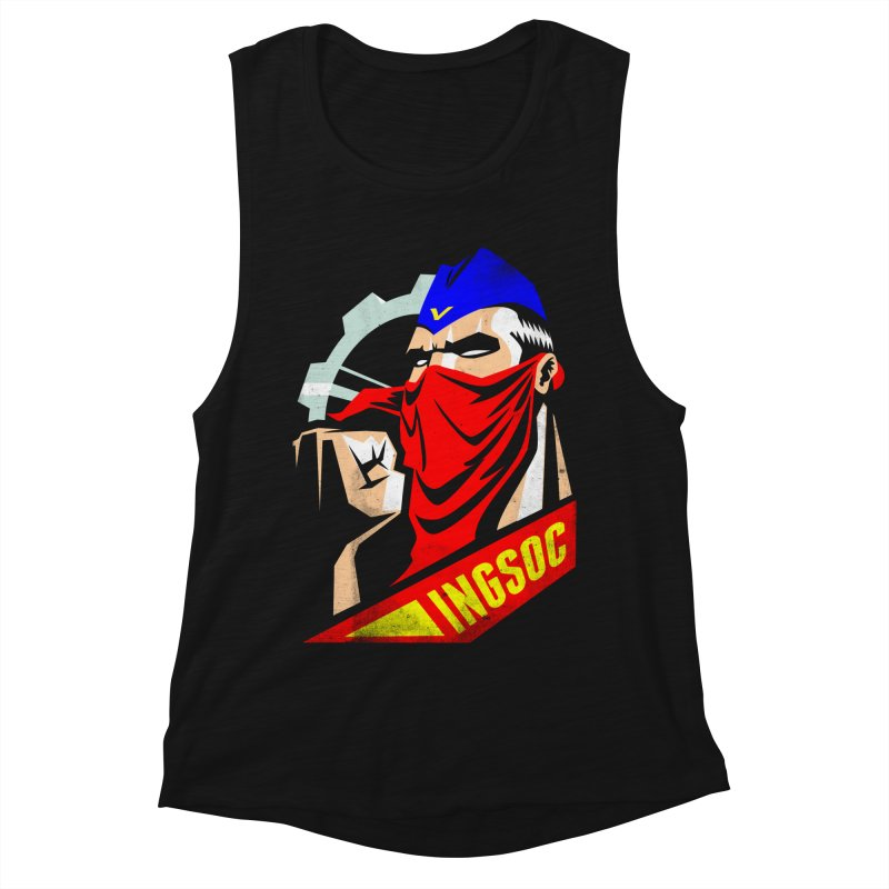 INGSOC Women's Muscle Tank by Propaganda Department