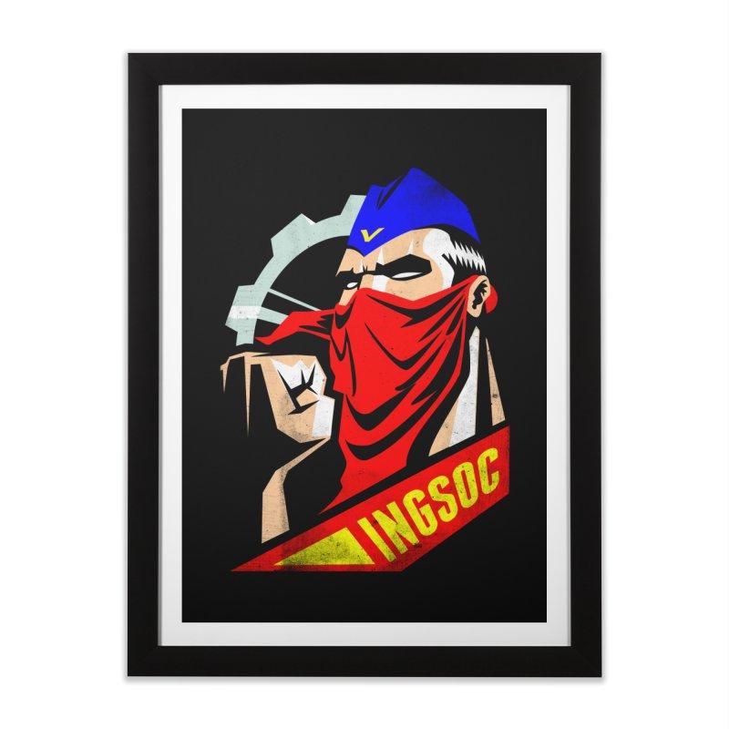 INGSOC Home Framed Fine Art Print by Propaganda Department