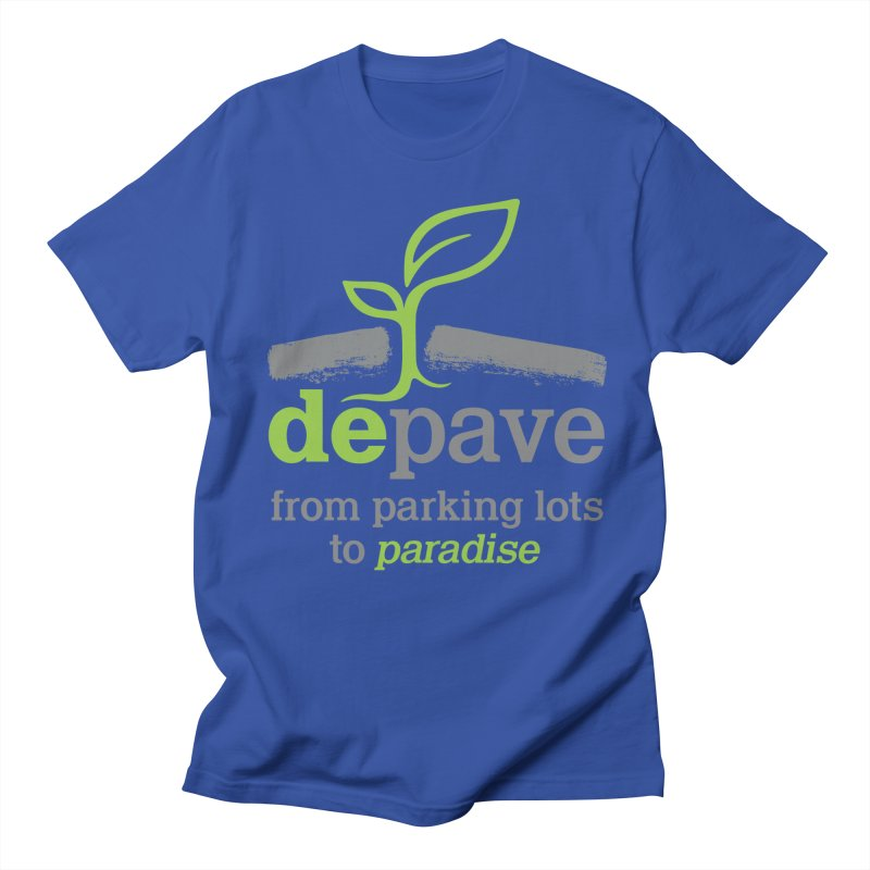 Depave - From Parking Lots to Paradise Men's Regular T-Shirt by Depave's Shop