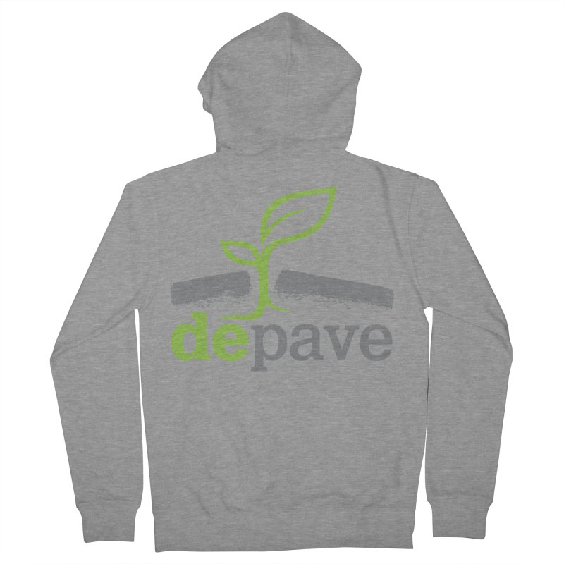 Depave Classic Women's French Terry Zip-Up Hoody by Depave's Shop
