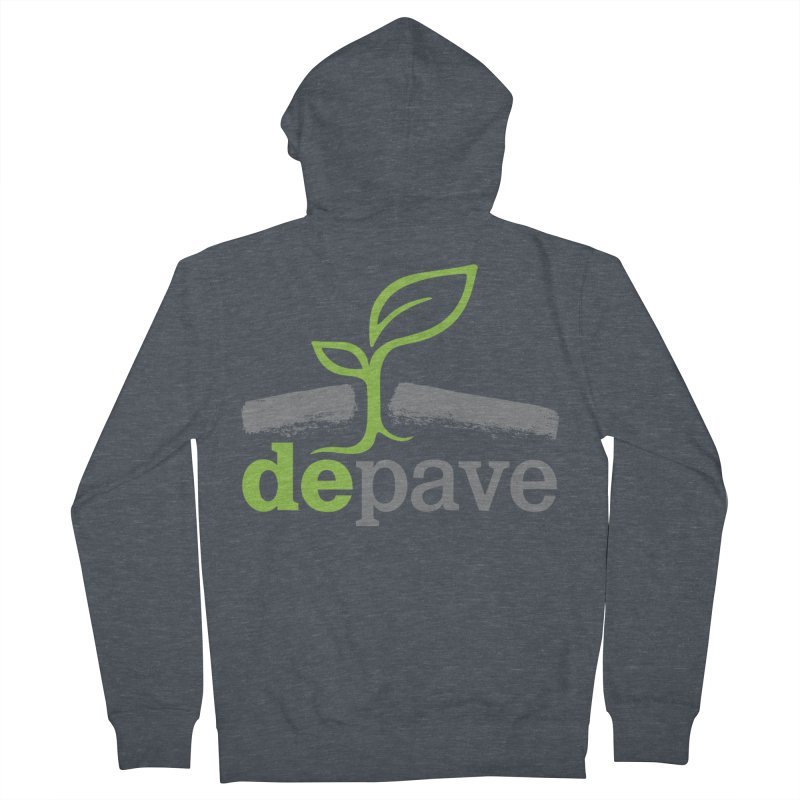 Depave Classic Men's French Terry Zip-Up Hoody by Depave's Shop