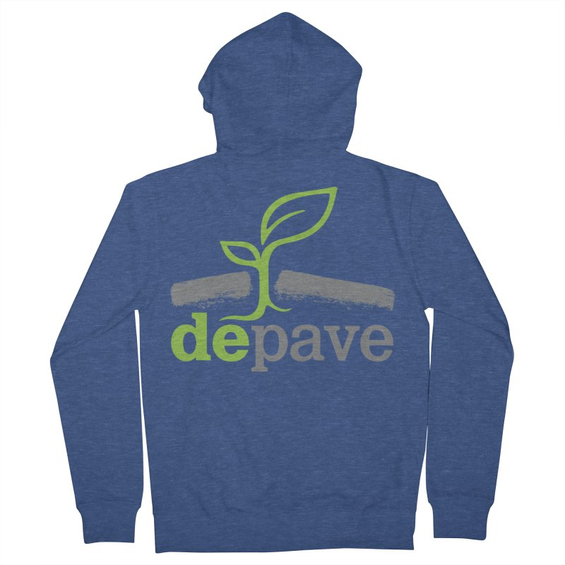 Depave Classic Men's Zip-Up Hoody by Depave's Shop