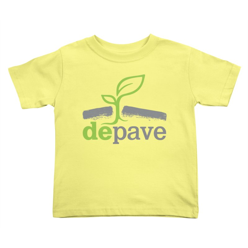 Depave Classic Kids Toddler T-Shirt by Depave's Shop