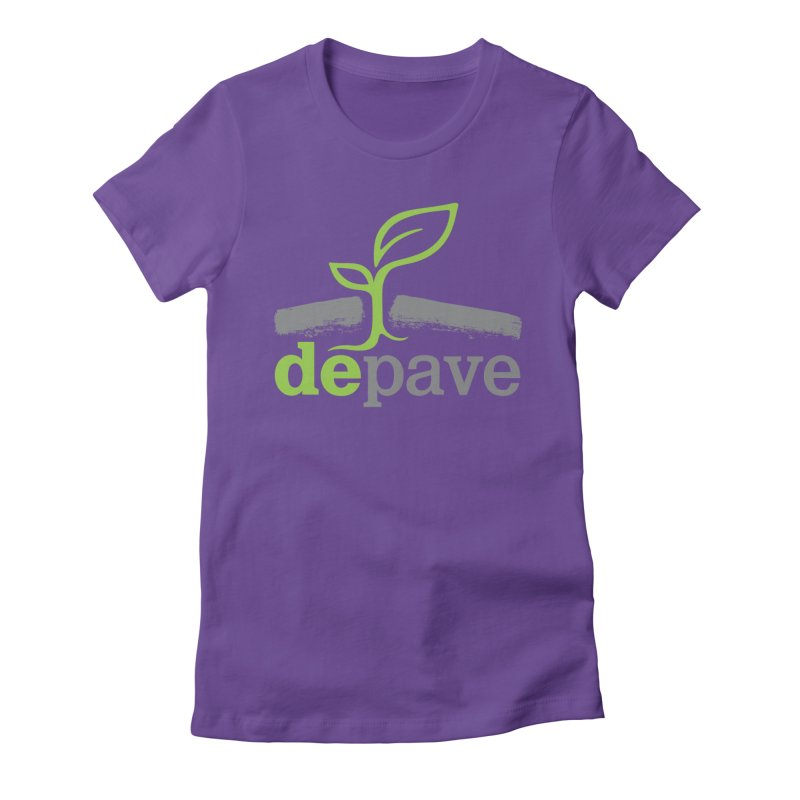 Depave Classic Women's Fitted T-Shirt by Depave's Shop