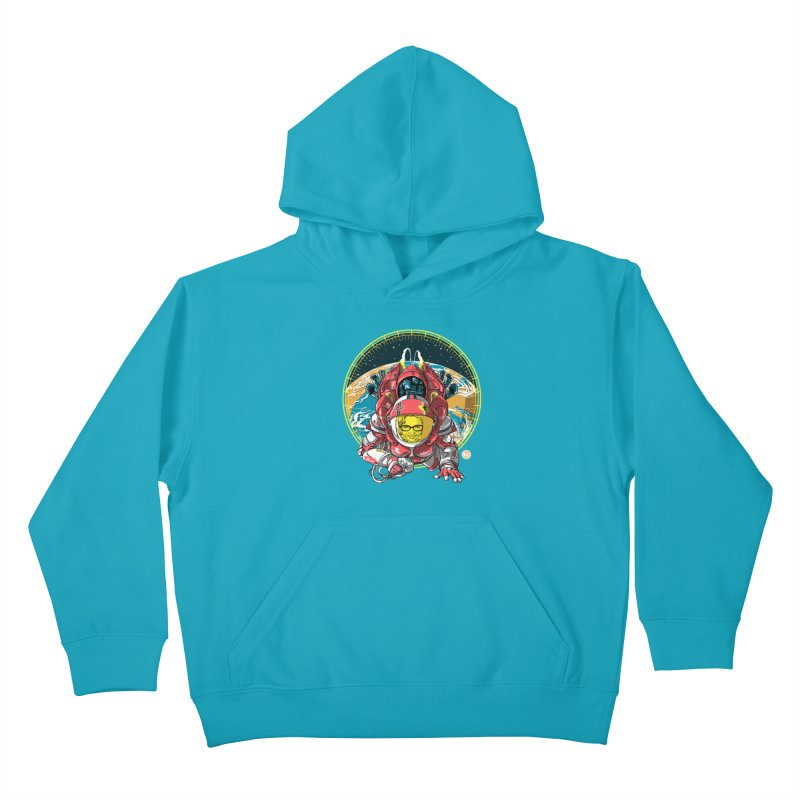 StarRider / Made-In-ITA Kids Pullover Hoody by depot977's Artist Shop