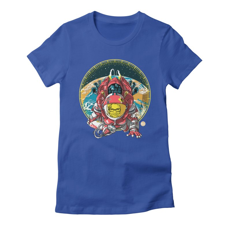 StarRider / Made-In-ITA Women's Fitted T-Shirt by depot977's Artist Shop
