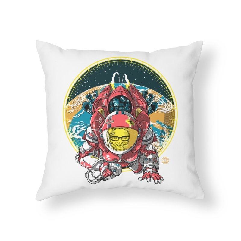 StarRider / Made-In-ITA Home Throw Pillow by depot977's Artist Shop