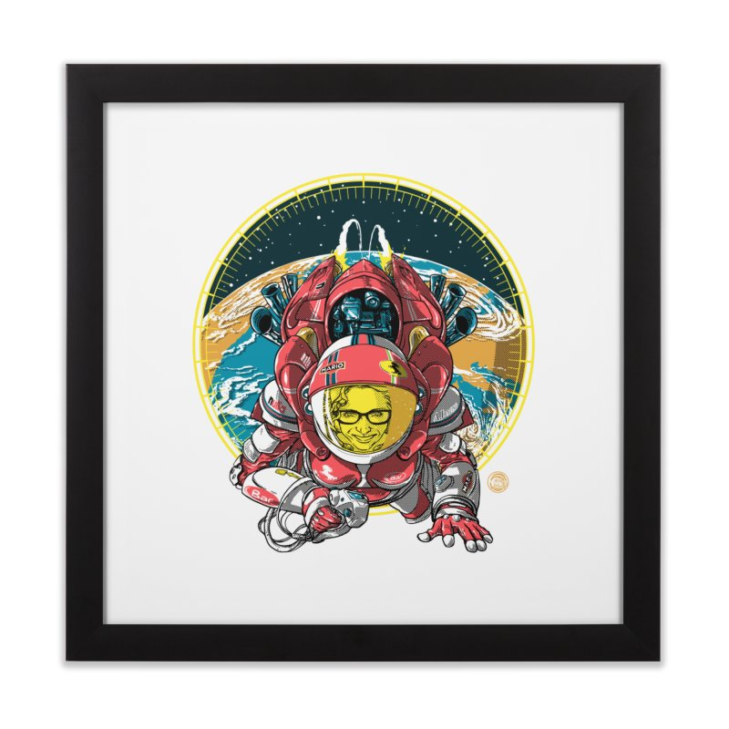 StarRider / Made-In-ITA Home Framed Fine Art Print by depot977's Artist Shop